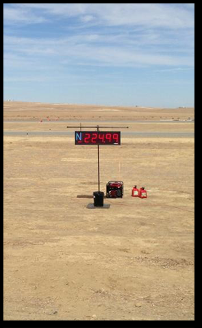 224.99mph New 1/2 mile World Record