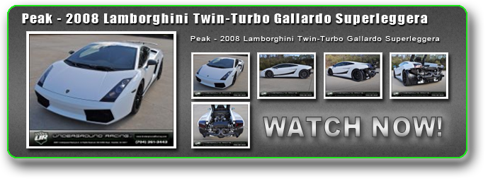 Peak - 2008 Lamborghini Twin-Turbo Gallardo Superleggera